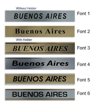 Buenos Aires Clock Name Plate |World Time Zone City Wall clocks Sign custom Plaque